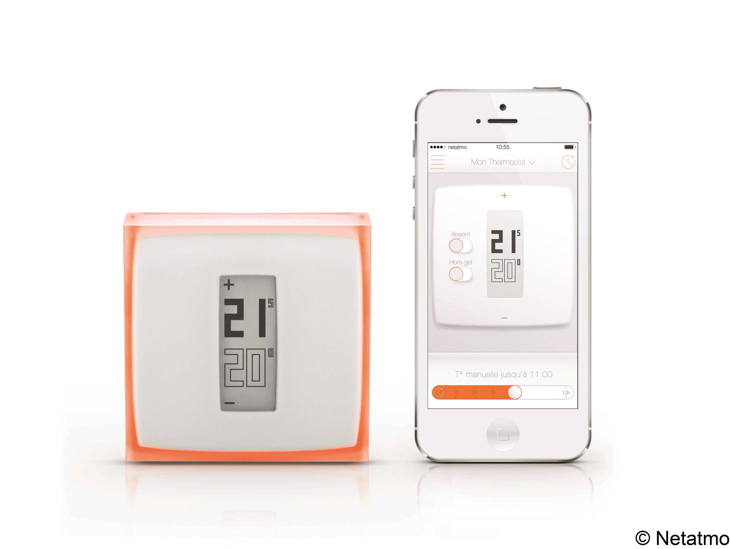(Foto) Smart Thermostat Netatmo